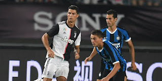 موعد مباراة يوفنتوس وانتر ميلان الأحد 08-03-2020 في الدوري الايطالي