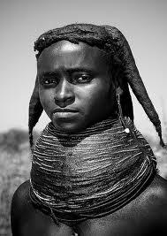 Mwila tribe girl,Angola
