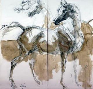 cuadros-corceles-pinturas-dibujos
