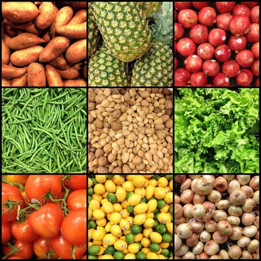Natural Insoluble Fiber Foods