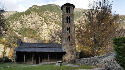 Iglesia de Santa Coloma Andorra