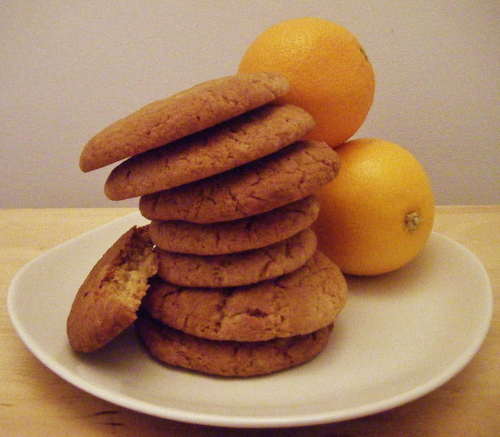 The Best Recipes Orange Gingernut Biscuits
