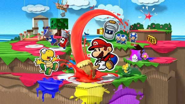 Nintendo ha compartido un nuevo tráiler de Paper Mario: Color Splash