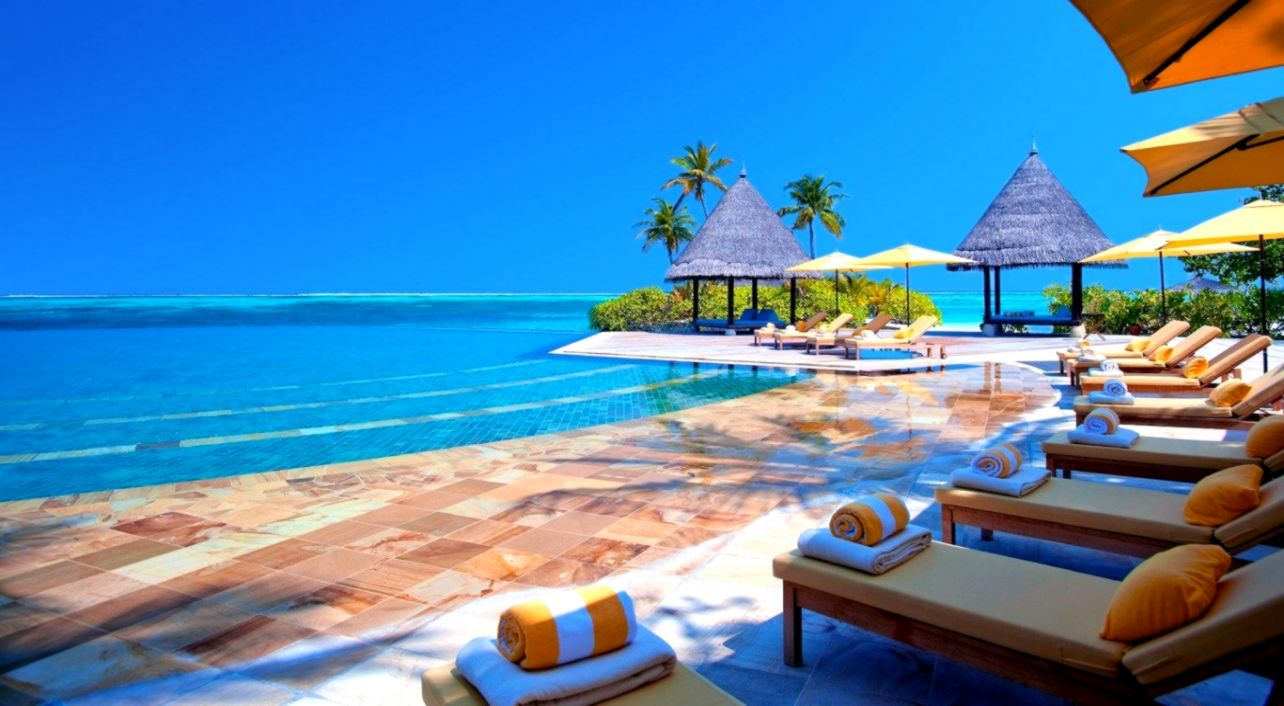 Maldives Hotel Beach Wallpaper Hd Wallpapers User