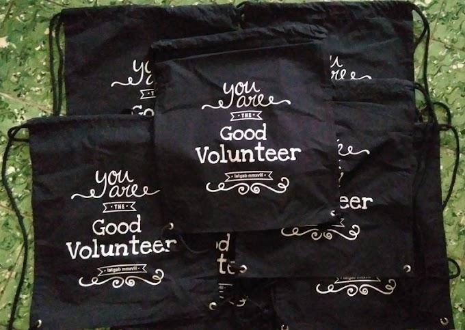 Pesanan Tas Volunteer