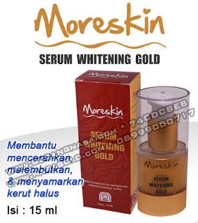 MORESKIN SERUM GOLD Rp.125.000,-