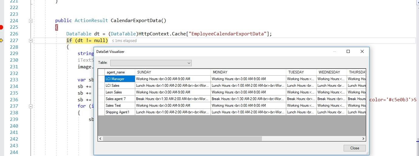 Asp net Shikho: How to export full calendar data in pdf file