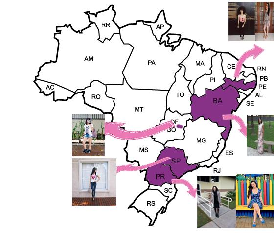 Projeto: Blogueiras do Brasil | Fevereiro