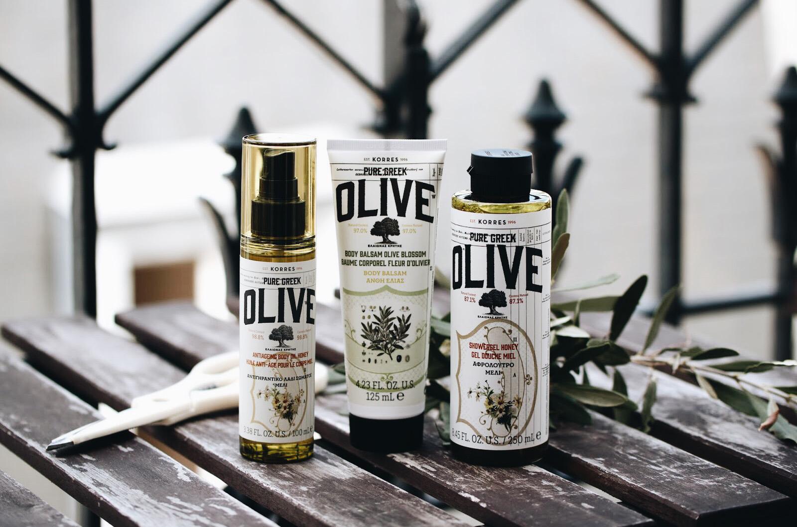korres gamme à l'olive