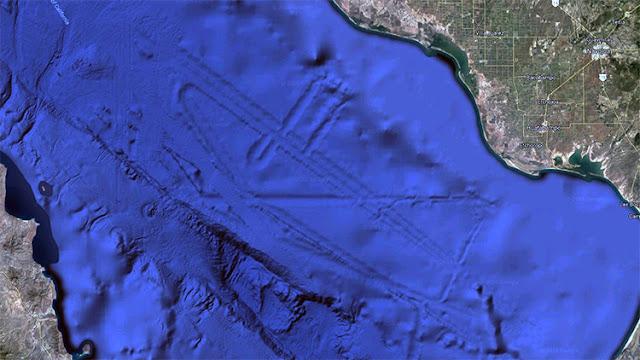 ¿Hay una ciudad alienígena en el fondo del golfo de México?