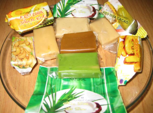 Đến xứ dừa Bến Tre không nên quên món kẹo dừa