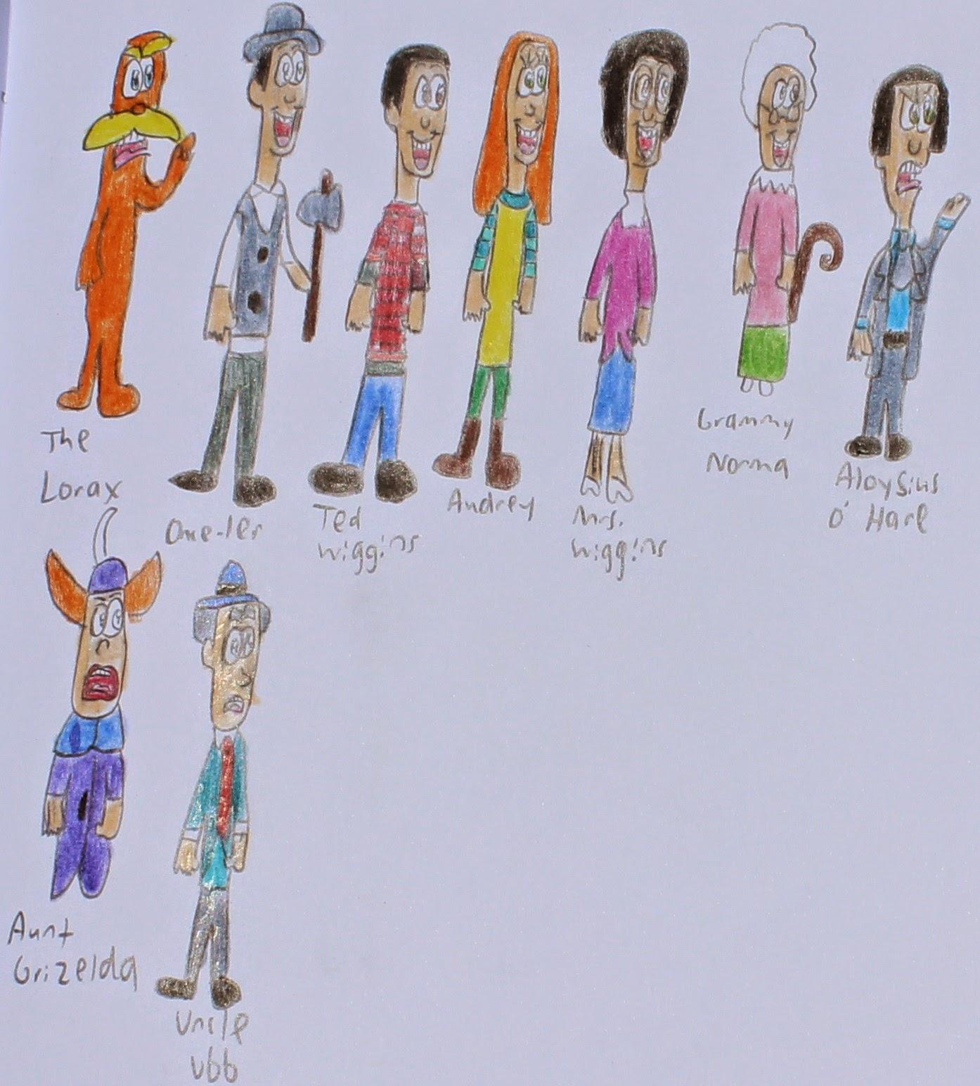 Franklin's World Of Cartoons: The Lorax 2012