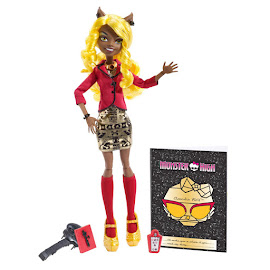 MH Frights, Camera, Action! Clawdia Wolf Doll