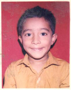 Ronak Sawant's childhood photo