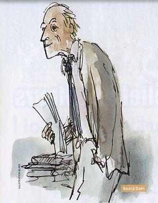 Roald Dahl, por Quentin Blake