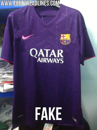 Cómo será la nueva camiseta morada del FC Barcelona  69addfbf3d131