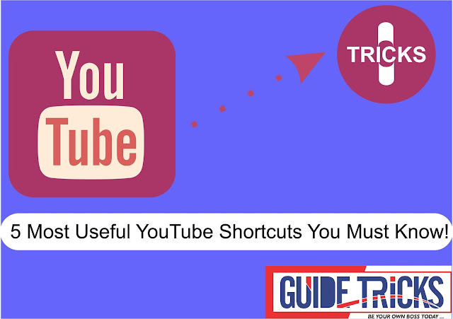5 Most Useful YouTube Shortcuts You Must Know!