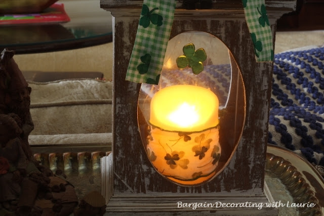 St Patrick Decor-Bargain Decorating with Laurie