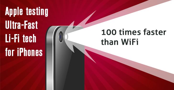 Apple testing Ultra-Fast Li-Fi Wireless Technology for Future iPhones