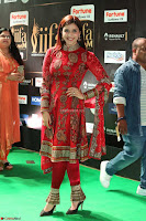 Mannara Chopra and Khushbu in Red at IIFA Utsavam Awards 2017  Day 2  Exclusive 11.JPG