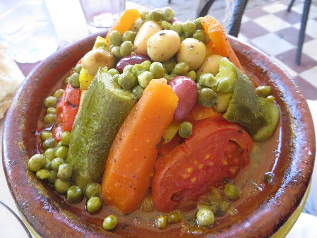 Tagine Marocain aux légumes