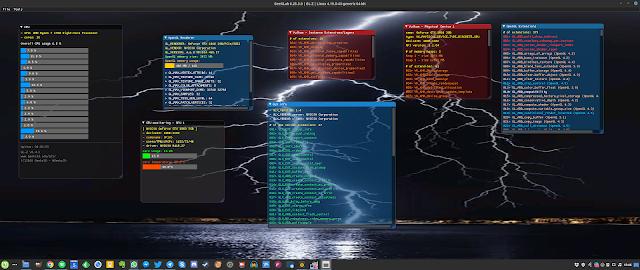 Configurações do GL-Z Linux