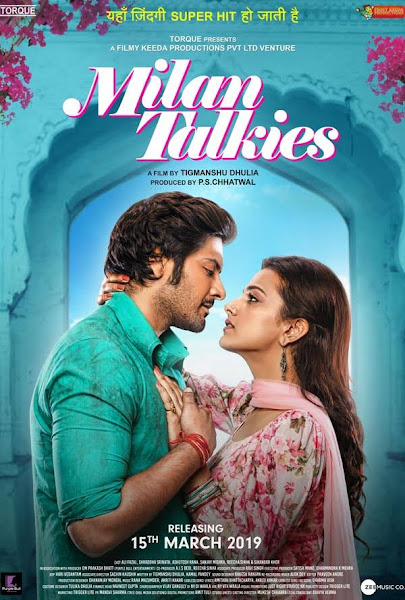 Poster of Milan Talkies (2019) Full Movie [Hindi-DD5.1] 720p HDRip ESubs Download