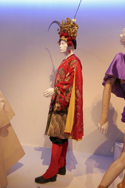 Chinese dancer costume Greatest Showman