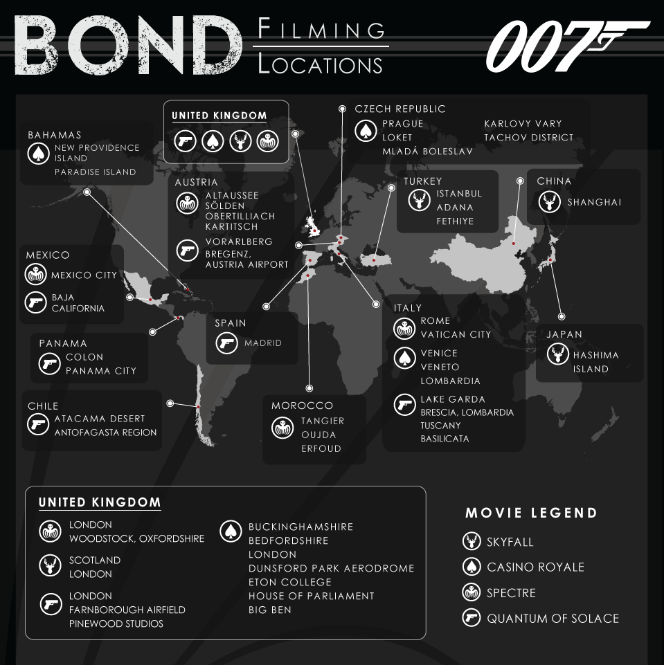 Location casino royale 007