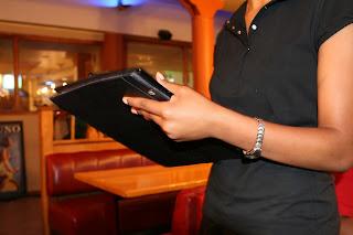 Recepcionista de restaurante