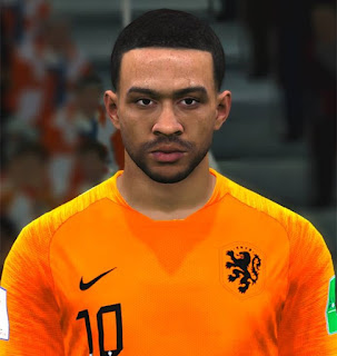 PES 2017 Faces Memphis Depay by ABW_FaceEdit