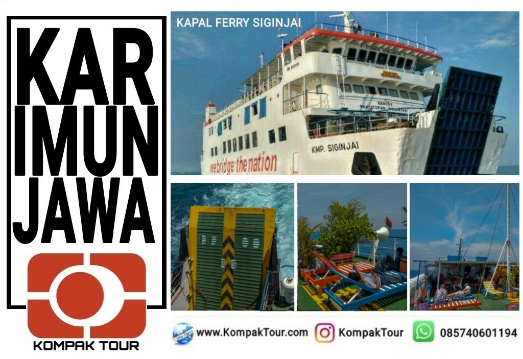 JADWAL KAPAL KE KARIMUNJAWA | Open Trip Travel Paket Wisata Murah ...