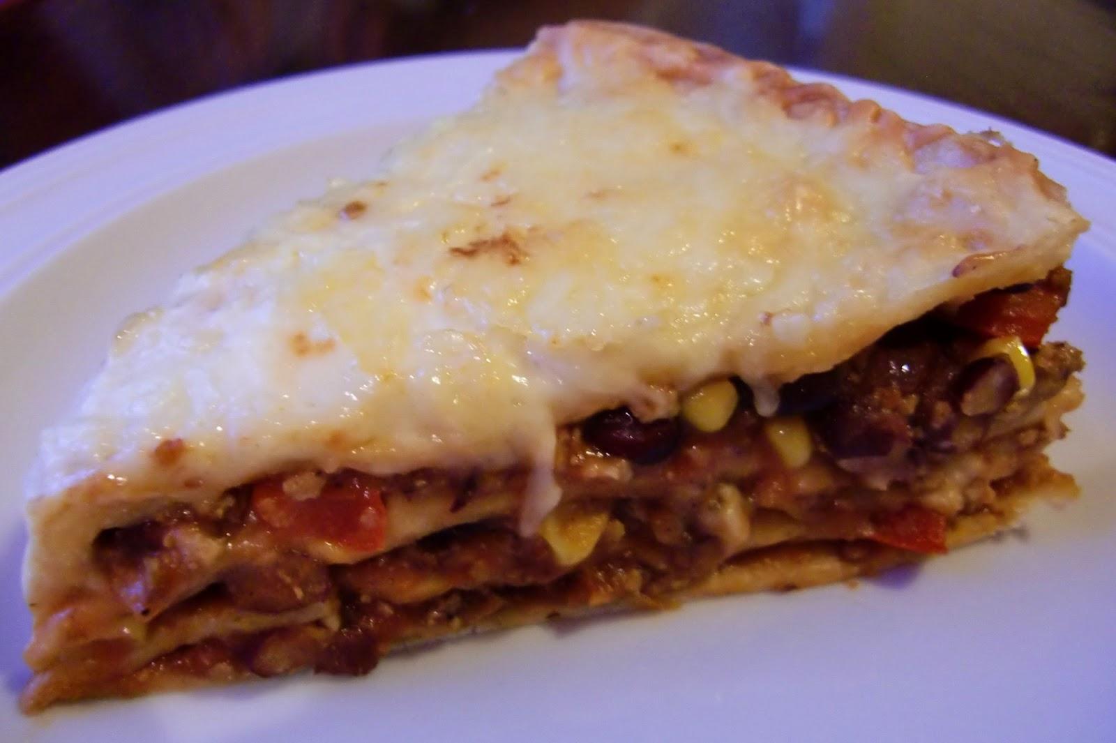 Rezept Mexikanische Lasagne