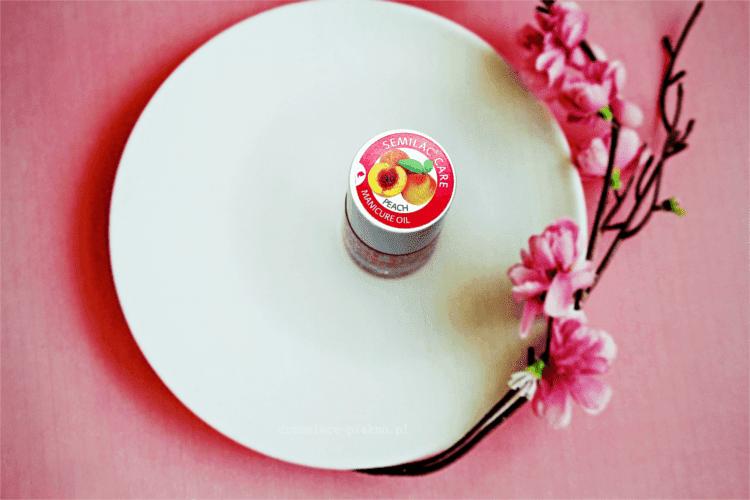 Odżywka do paznokci Semilac Manicure Oil Peach - brzoskwiniowa
