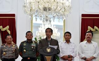 Presiden Didesar berbagai Pihak untuk beberkan Nama Aktor Politik Demo 4 November - Commando