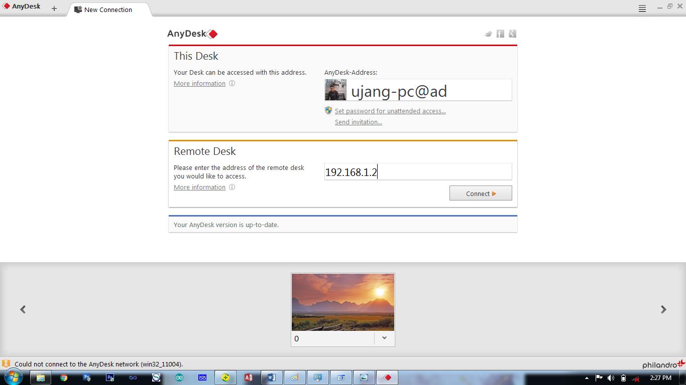 Ini Sang Pemimpi: Cara Menggunakan Anydesk Remote Desktop