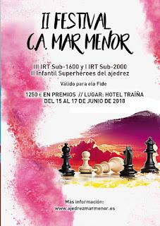 II Festival C.A.Mar menor - Bases + Nota importante para hospedados.