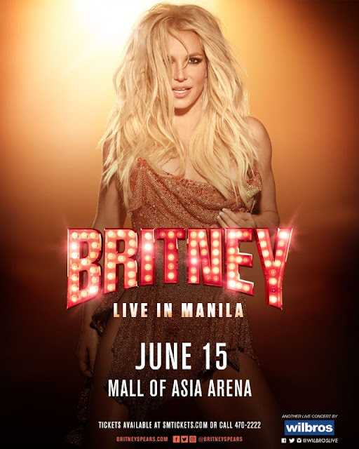 Britney Live in Manila, Britney MOA Ticket, Britney Spears live concert manila ticket price, Britney Mall of ASIA Arena, Britney Spears Manila Philippines, SM Tickets