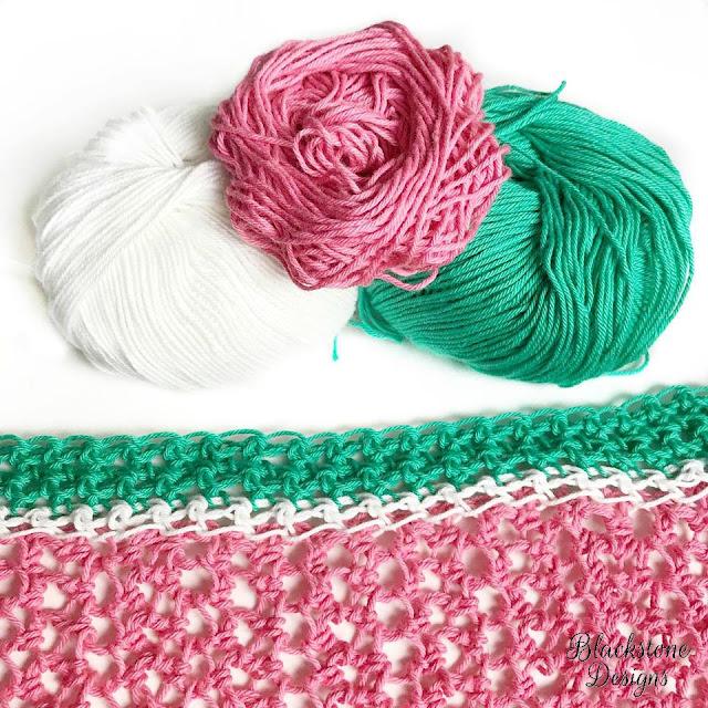 Watermelon Swimsuit Cover free crochet pattern Millamia Yarn