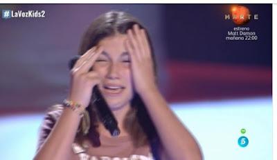 Nerea: Mi Niña Lola  |  Audiciones a ciegas La Voz Kids