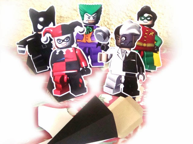 lembrancinhas heróis lego