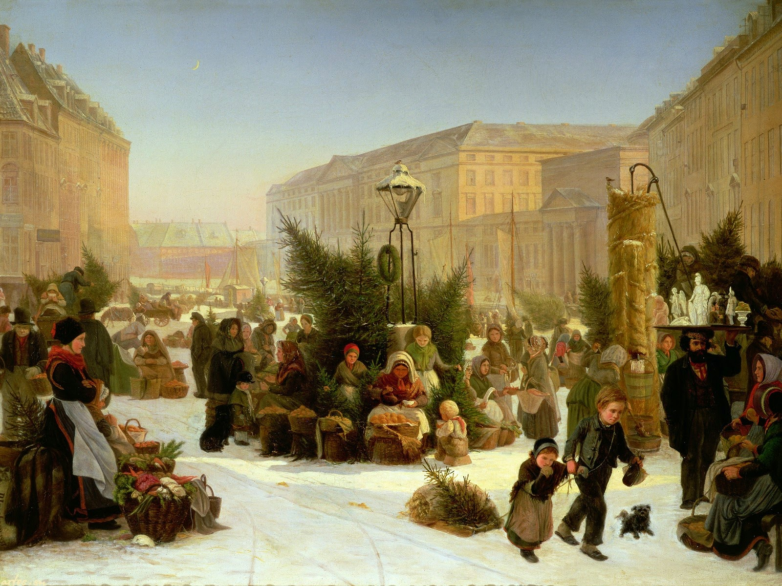 christmas tree in england history