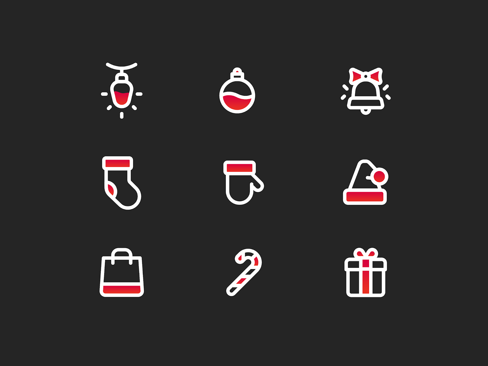 Christmas Icons PNG Free Download
