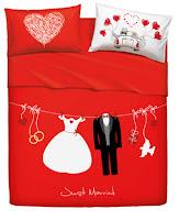Love is a couple - Bassetti Imagine. Juego de cama