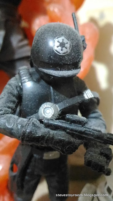 Star Wars Saga Collections Death Star Gunner Toy Cleaner