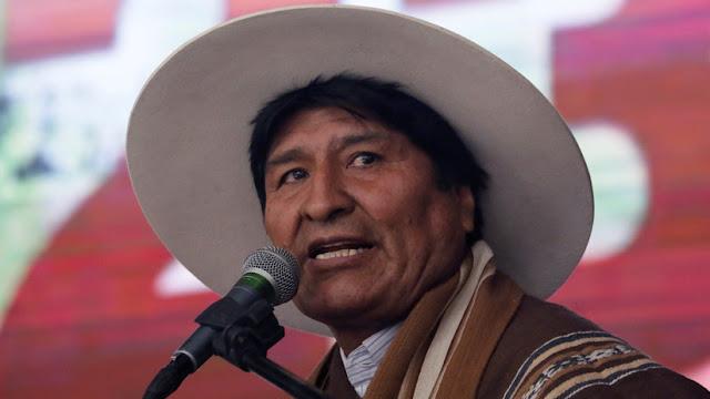 """Evo Morales acusa a Trump de """"doble moral"""" por su actitud ante la caravana de migrantes"""