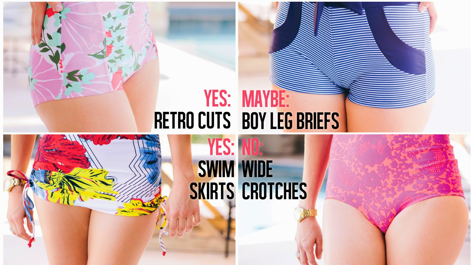 How to Pick the Best Swimsuit for Your Bottom