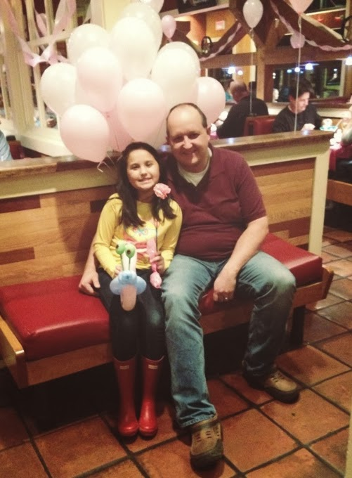 A Harmonious Combination A Daddy Daughter Date Dinner At Chilis