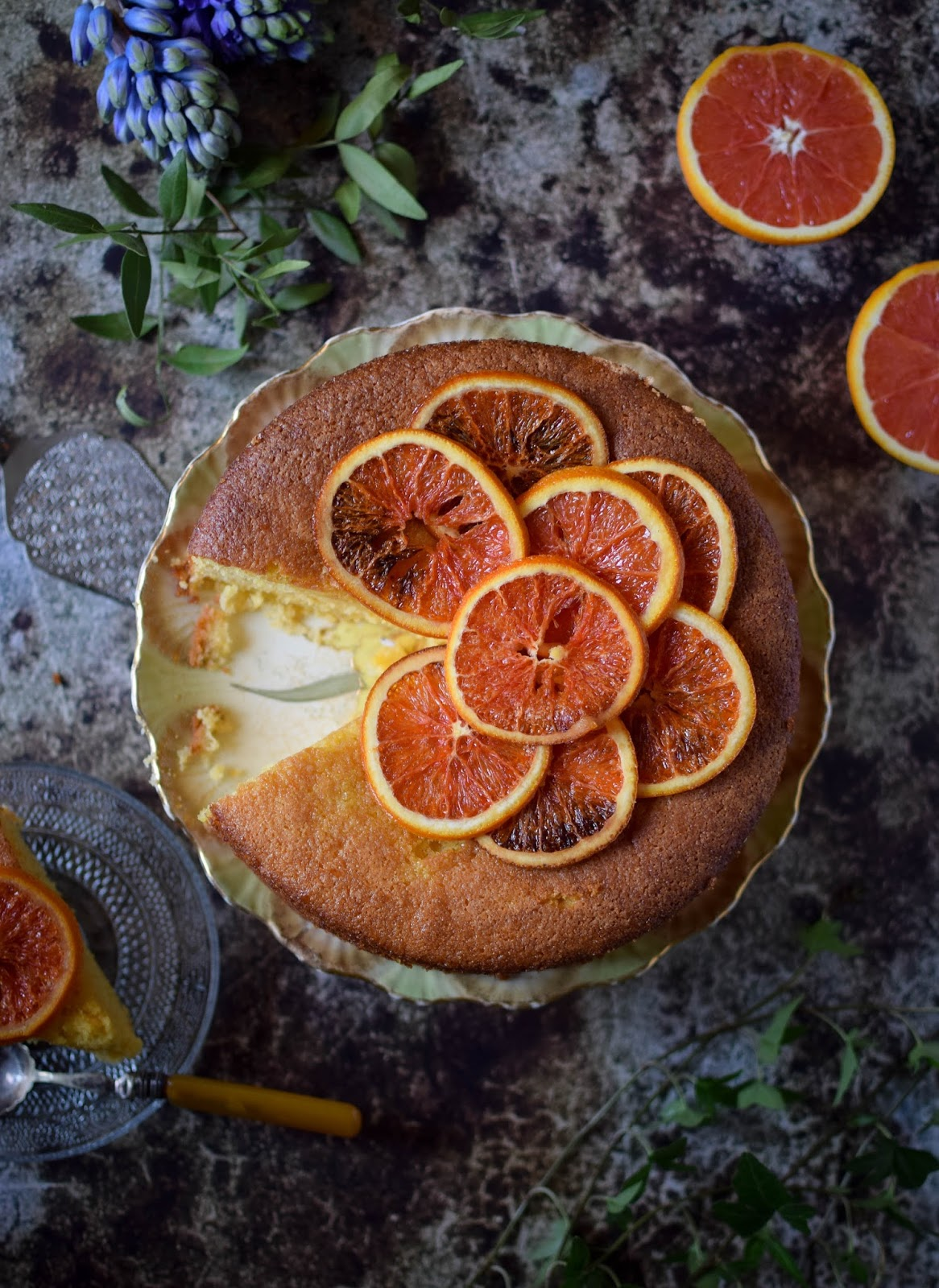 Boiled Orange And Almond Cake Recipe