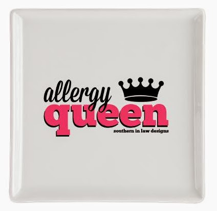 Allergy Queen Plate